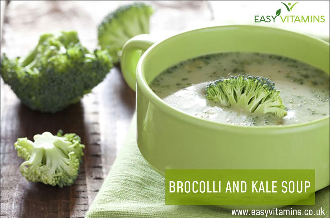 Broccoli and Kale Soup