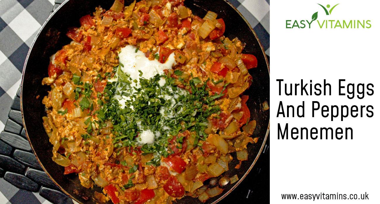 Turkish Eggs & Peppers Menemen